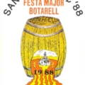 Festa Major de Sant Llorenç 1988